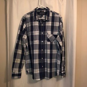 AMERICAN RAG XL BUTTON UP NWOT
